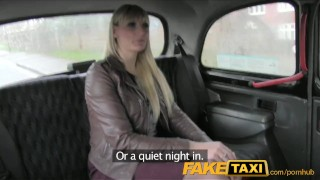 Preview 1 of FakeTaxi Milf takes it from behind