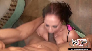 WCP CLUB Housewife Gianna Michaels has 3 BBC for breakfast