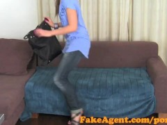 FakeAgent Super hot party chick knows how to suck and fuck in Casting