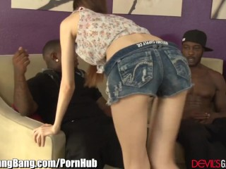 Tisha Campbell Big Ass Devilsgangbangs 2 Creampies And 3 Big Black Cocks