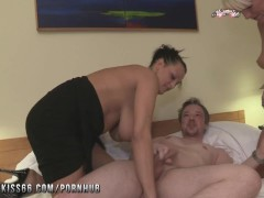 Nightkiss66 - German milf threesome with a couple