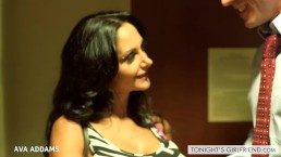 Busty gf Ava Addams take a large penis