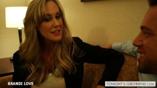 Preview 1 of Beauty gf Brandi Love gets nailed