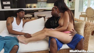 Two with black mia on dicks khalifas boyfriend revenge monster interracial revenge
