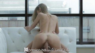 HD Passion-HD - Anjelica enjoys some big dick hotel lobby lust