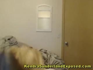 Kendra Sunderland Goes Hardcore OMG