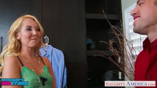 Preview 2 of Sexy blonde Aaliyah Love gets nailed