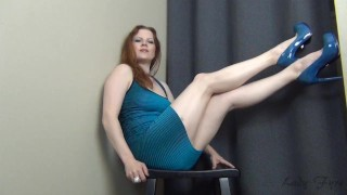 Trial by Fire CBT Jerk Off Instruction Ruin Orgasm Edging  big tits homemade redhead femdom mom amateur milf webcam dom joi heels mother jerk off instruction edging edge