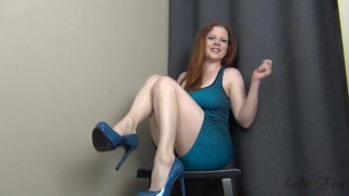 Trial by Fire CBT Jerk Off Instruction Ruin Orgasm Edging  big tits homemade redhead femdom mom amateur milf edging webcam joi heels mother jerk off instruction dom edge