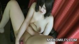 Maiko Umeki - Chubby JAV Wife Having Sex With A Stranger