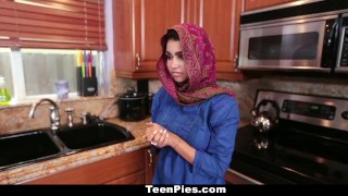 TeenPies - Muslim Girl Praises Ah-Laong Dick Big tits