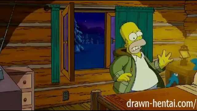 Nude simpton Simpsons hentai - cabin of love