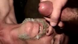 Poor ex convict gets to ride cock
