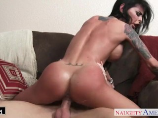 Pure Bbw Tube Tattooed chesty brunette babe Brandy Aniston fucking