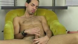Latino Straight Guy Dax Masturbating