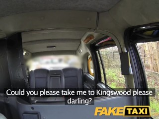 Faketaxi stable owner gets the ride of her life