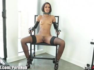 Evilangel skin diamond anal masturbation