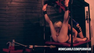 Femdom Slave get's machine pegged and fucked by Norwegian MonicaMilf  mistress domination monica milf norway fleshlight bdsm scandinavian femdom mom norwegian fucking machines kink monicamilf mother bondage femdom pegging norsk porno milf monica