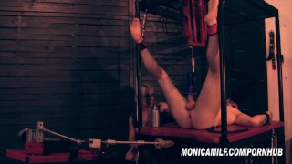 Femdom Slave get's machine pegged and fucked by Norwegian MonicaMilf  monica milf norway fleshlight bdsm femdom mom mistress-domination kink mother fucking-machines bondage femdom pegging norwegian norsk-porno monicamilf scandinavian milf monica