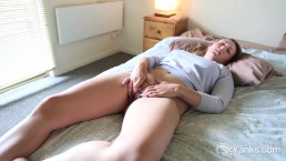 Blonde Babe Keilyn Playing With Her Pussy