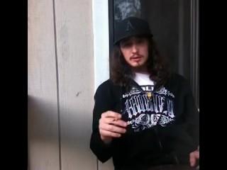 Hot Guy Smoking A Cigarette