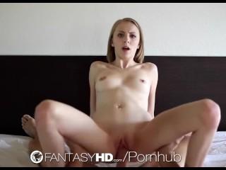 Valerja nemchenko letting him plow her tight little pussy homemade cumshot orgasm point