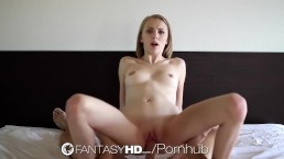 HD FantasyHD - Jenna Marie deepthroats until she begs of his dick