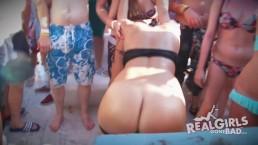Echte meiden gaan stout, sexy naakte boot feest, drank cruise HD Promo 2015