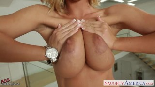 Hot assed blonde Nicole Aniston jumping cock  cock sucking hardcore hot ass big boobs pussy eating fake tits naughty america big tits nicole aniston naughtyamerica blonde busty