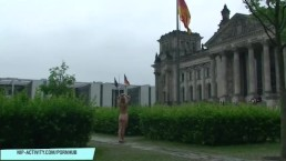 Naughty german girl anne naked in berlin