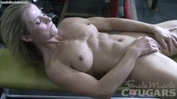 Mature Claire Masturbates in the Gym