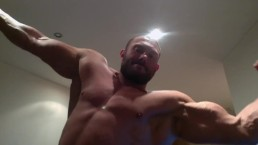 Jay Muscle Muscle Worship Domination Strip and Flex