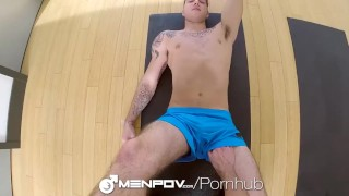 HD MenPOV - Workout session turns into hot sex Hd reverse