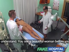 Young doctor rises to the big occasion with hot patient