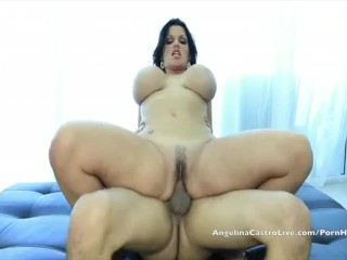 Big Titted Cuban Angelina Castro Rewards a Helping Hand!