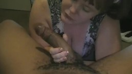 Milking a Black dick for his Cream Filling