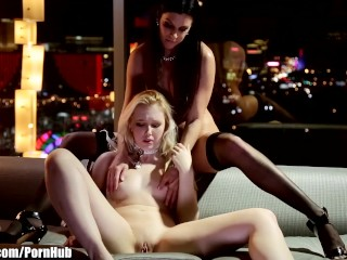 Naive Call Girl is seduced by Lesbian Executive Girlsway
