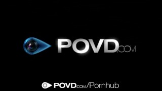 HD POVD - Brunette Rachael Madori spreads her pussy in pov