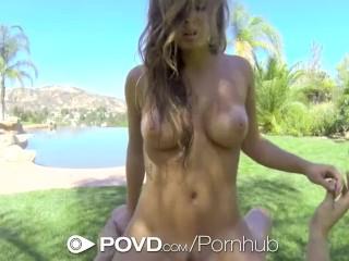 HD POVD – Keisha Grey loses rips off her bikini to get fucked