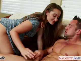 Preview 3 of Beauty wife Dani Daniels gets nailed hard