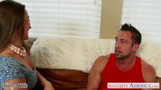 Preview 1 of Beauty wife Dani Daniels gets nailed hard