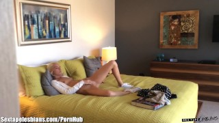 Catches masturbating stepsister von's halle her small pov