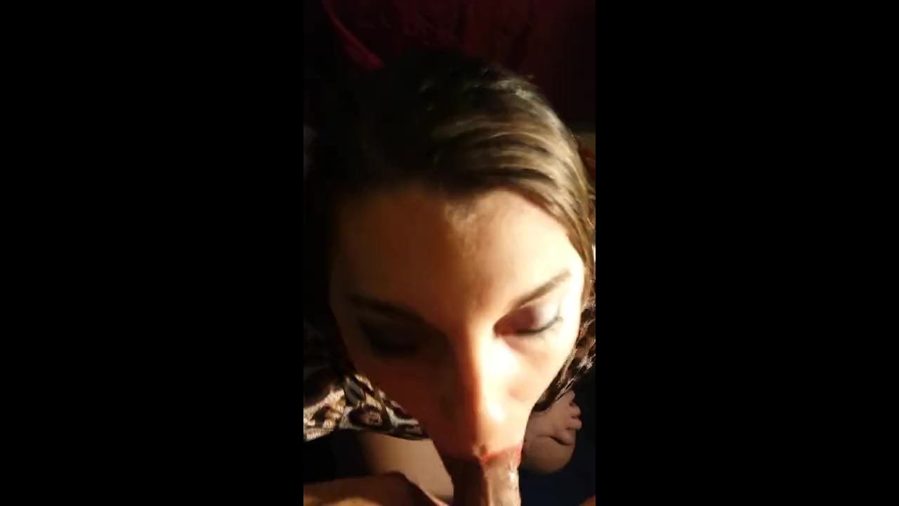 Horse godmother cock sucker loves to get on her knees and suck out a jizz load 8