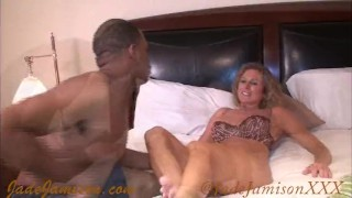Interracial fan foot fetish fuck  milf kink big tits bbc big dick