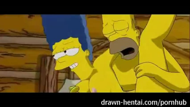 Homer simpsons penis - Simpsons porn - threesome
