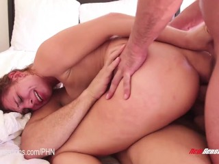 Yana Yatskovskaya New Sensations - Aidra Fox Destroyed With Double Vaginal Dp