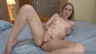 Riley Reynolds Creampied By Black Cock In Front Of Husband  doggy style big cock masturbation creampie cuckold squirt wife husband blonde blowjob cumeatingcuckolds interracial threesome cum eating pussy eating cum cleanup