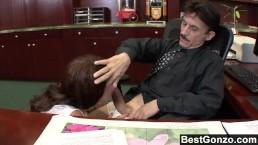 This slut fucks her stepdad for the car keys