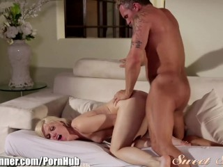 SweetSinner Ash Hollywood in Passionate Moment