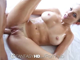 Fantasyhd super oiled up sexy shower time fuck lily love 8
